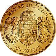 Ungarn Korona Goldmünze