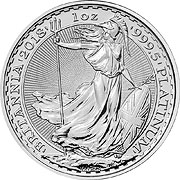 Britannia Platinmünze