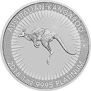 Känguru Platinmünze