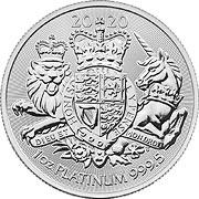 Royal Arms Platinmünze