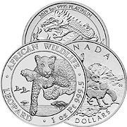 Weitere Platinmünzen Platinmünze