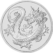 South Seas Dragon, Tuvalu Rhodium
