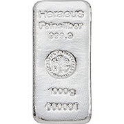1 kg Silberbarren