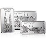 Geschenkbarren Silber