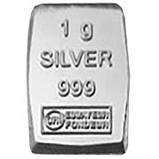 1 g Silberbarren