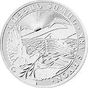 Arche Noah Silbermünze