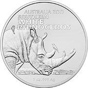 Australia Zoo Silbermünze