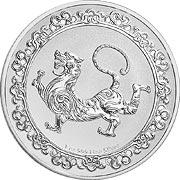 Celestial Animals Silbermünze