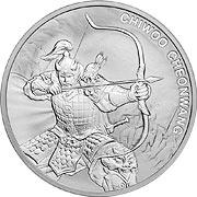 Chiwoo Cheonwang Silbermünze