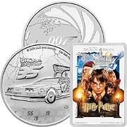 Comic, Kino & TV (Silber) Silbermünze
