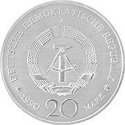 DDR Gedenkmünzen Silbermünze