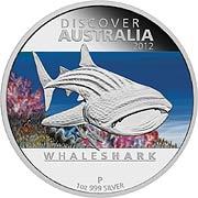 Discover Australia Silbermünze