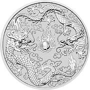 Dragon Serie Silbermünze