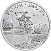 Eastern Caribbean Silbermünze
