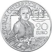 Euro Österreich, weitere Silbermünze