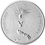 Fiji Mermaid Silbermünze
