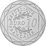 Frankreich Euro Silbermünze