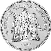 Frankreich Francs Silber Silbermünze