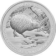 Kiwi Silbermünzen