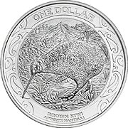 Kiwi Silbermünze