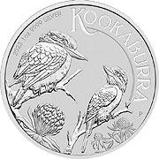 Kookaburra Silbermünze