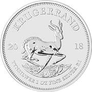 Krügerrand Silbermünze