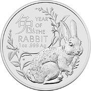 Lunar Serie II (RAM) Silbermünze