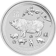 Lunar Serie II  Silbermünze