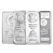 Münzbarren Silbermünze