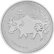 Niue Lunar Serie Silbermünze
