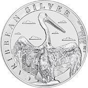 Pelikan Barbados Silbermünze