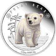 Polar Babies Silbermünze