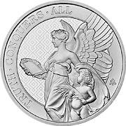 Queens Virtues Silbermünze