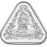 Schiffswrack Serie Silbermünze