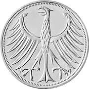 Silberadler Silbermünze