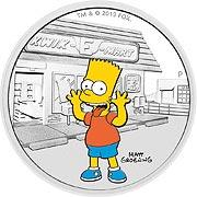 Simpsons Silbermünze
