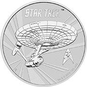 Star Trek Silbermünze