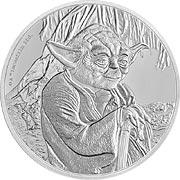 Star Wars Silbermünze