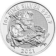 Valiant Silbermünze