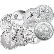 Weitere Silbermünzen Silbermünze