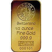 1/2 oz weitere Goldbarren