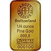 1/4 oz weitere Goldbarren