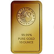 10 oz weitere Goldbarren