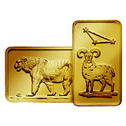 Motivbarren Gold weitere Goldbarren