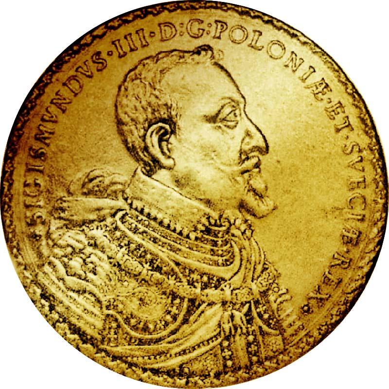 100 Gold-Dukaten Sigismund III