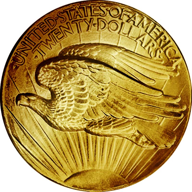 Double Eagle 1907 Ultra High Relief