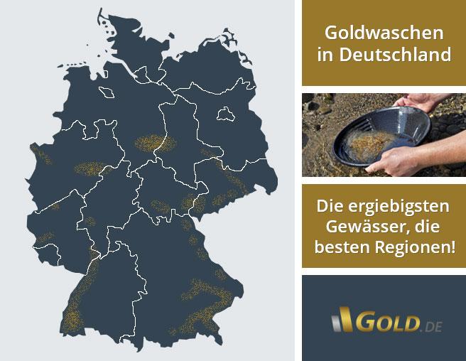 goldwaschen in deutschland das sind die ergiebigsten pl tze. Black Bedroom Furniture Sets. Home Design Ideas