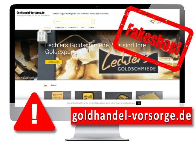 Gold fakeshop-goldhandel-vorsorge.de