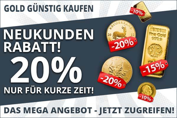 Gold günstig kaufen