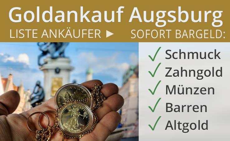 Goldankauf In Augsburg